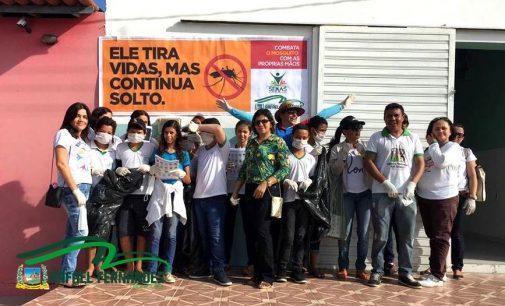 A Secretaria Municipal de Saúde de Rafael Fernandes, realizou no dia 29/03 o mutirão
