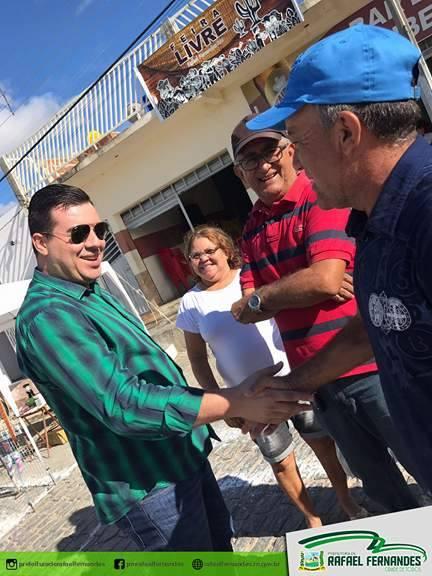 Feira Livre Municipal de Rafael Fernandes teve início na última sexta-feira