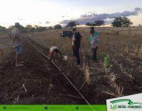 Moradores de comunidade rural passam a ter água encanada para consumo