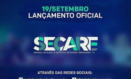 Lançamento oficial da SECARF 2017 acontecerá no próximo dia 19