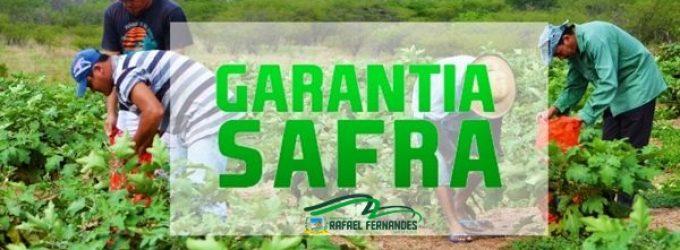 GARANTIA SAFRA IRÁ BENEFICIAR 119 AGRICULTORES EM RAFAEL FERNANDES