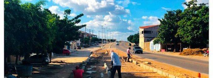 Prefeitura da andamento em obras para melhoria da cidade