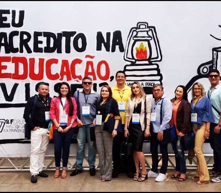 Secretária de Educação participa do 7º Fórum Nacional Extraordinário dos Dirigentes Municipais de Educação.