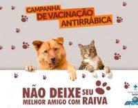 Campanha de Vacinação Antirrábica em Rafael Fernandes – RN.