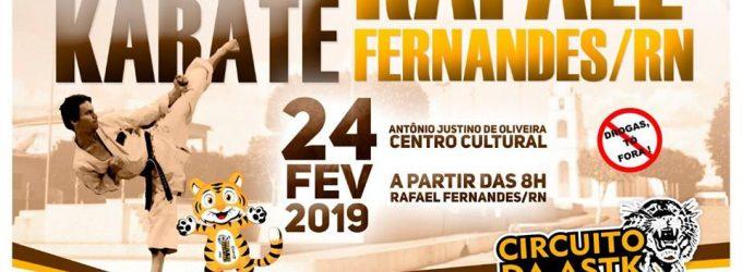 11ª Copa de Karatê de Rafael Fernandes acontece neste domingo (24)