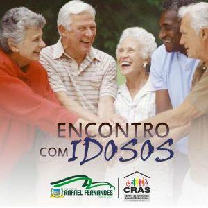 CRAS promove encontro com grupo de idosos do município.