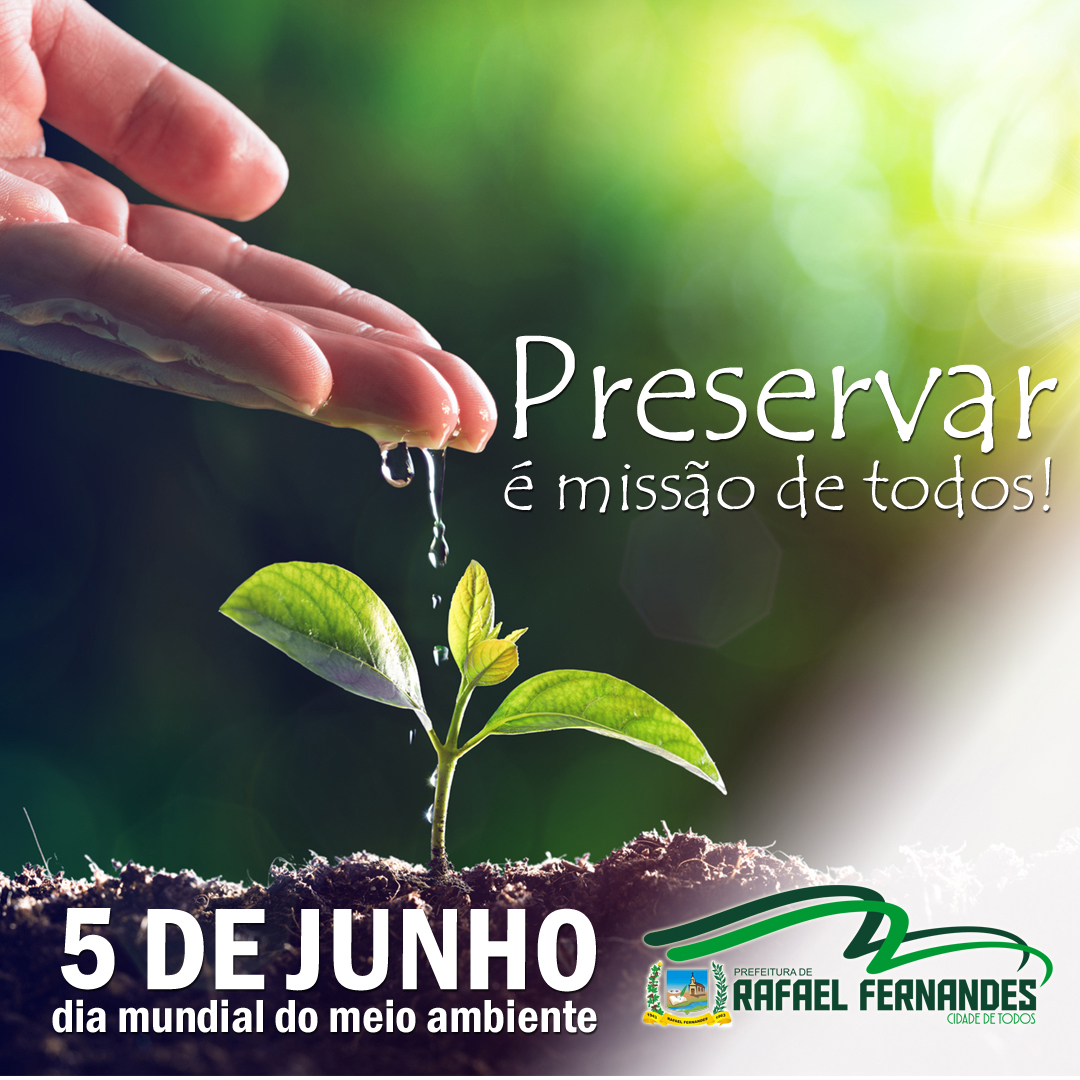 05 de junho, dia mundial do Meio Ambiente