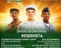 A partir desta segunda (22), 105ª Junta de Serviço Militar inicia emissão de carteira de reservista em Rafael Fernandes