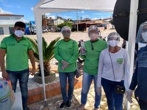 Secretaria de Saúde realiza barreiras sanitárias em Rafael Fernandes