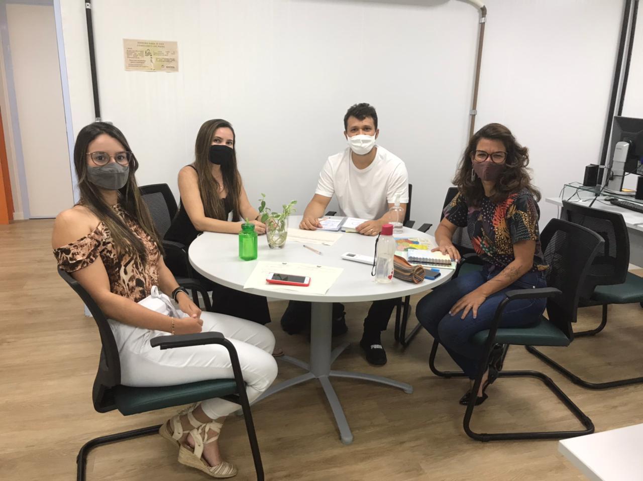 Engenheiro Ambiental Hugo Costa, participa de reunião na sede do IDEMA em Natal