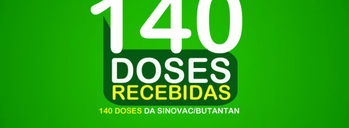 Rafael Fernandes recebeu mais 140 doses da Vacina Sinovac/Butantan nesta quinta-feira (25)