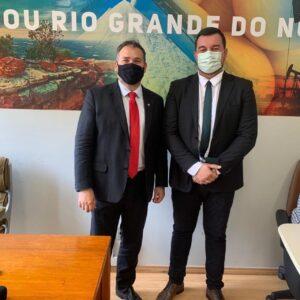 Prefeito Bruno Anastácio cumpre agenda administrativa em Brasília