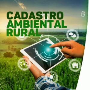 Secretaria Municipal de Meio Ambiente e Desenvolvimento Sustentável, está realizando o Cadastro Ambiental Rural