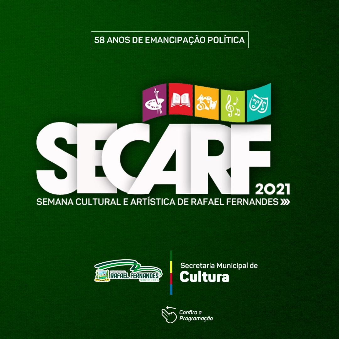 Prefeitura lança programação Oficial da SECARF 2021